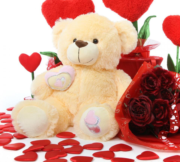 Teddy Bear Day Valentine shayari