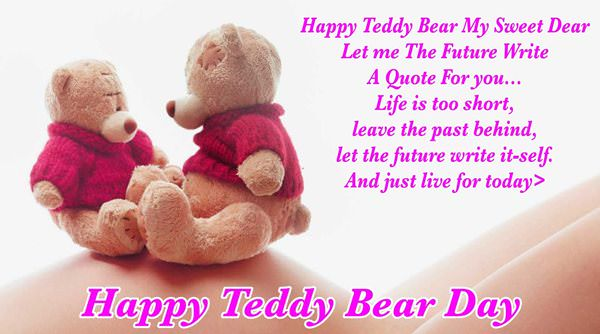 cute teddy bear saying quotes images