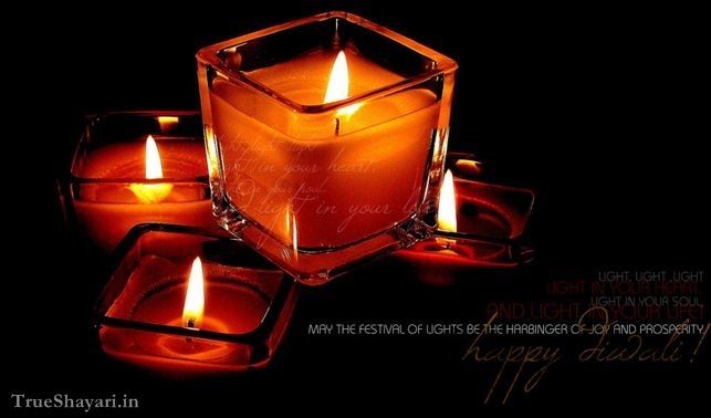 attractive candles image for diwali greetings 2016