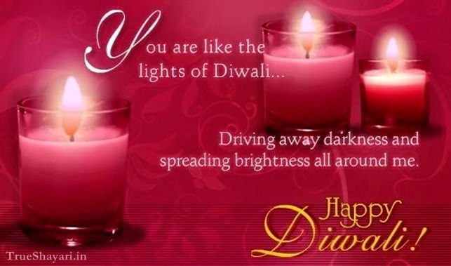happy diwali card with messages