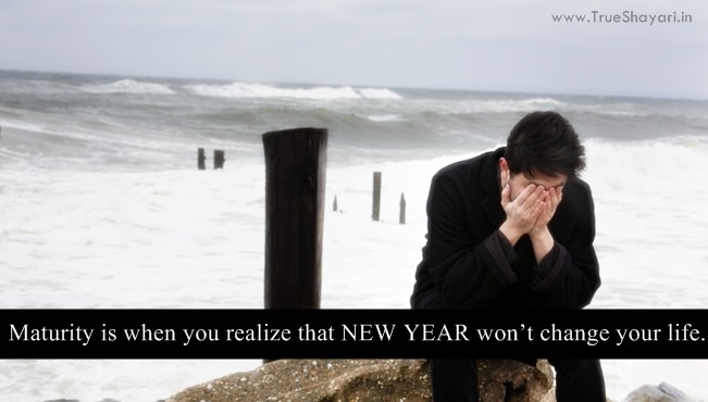 Sad New Year Quotes and Sayings