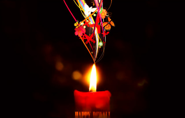 Awesome Diwali Candle