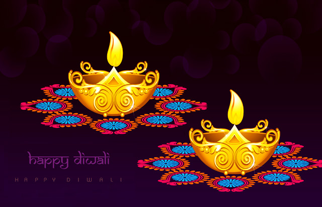 Beautiful Diwali Lamp 3D Diya