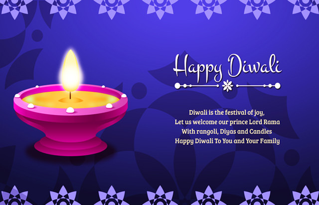 Beautiful diwali greetings cards images with wishes messages 2017 diwali greetings images m4hsunfo