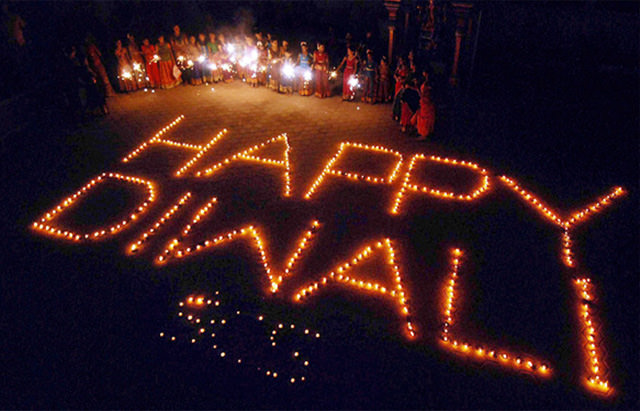 Happy Diwali from Diya