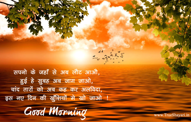 Nature Good Morning Images with Shayari