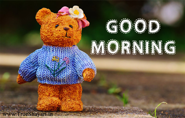teddy bear good morning picture