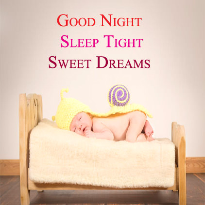 Cute Baby Good Night Wishes Message