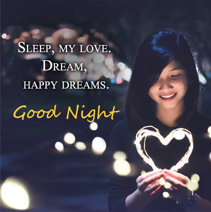 Good Night Happy Dreams Images for Love DP