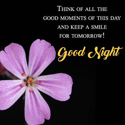 Keep smile good night sayings