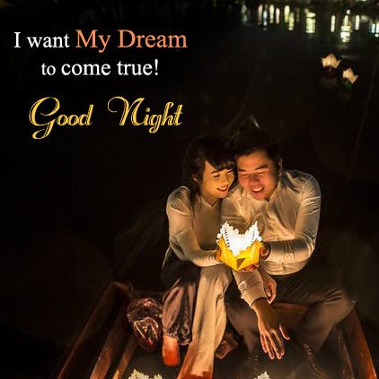 dream come true good night dp