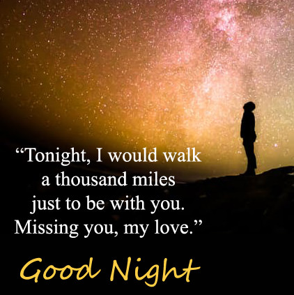 missing you messages gud night dp