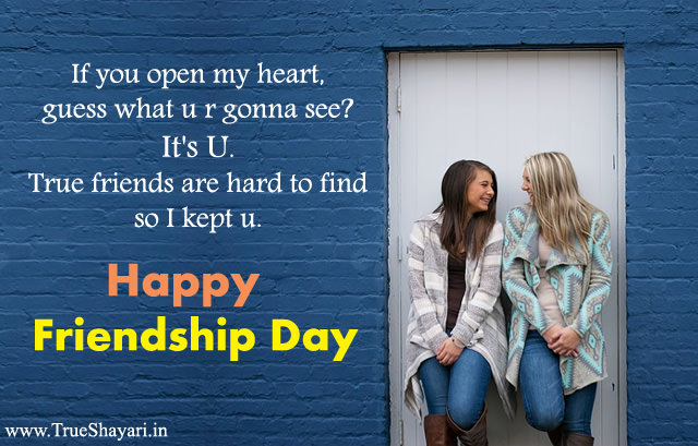 English Friendship Day Quotes for Girls