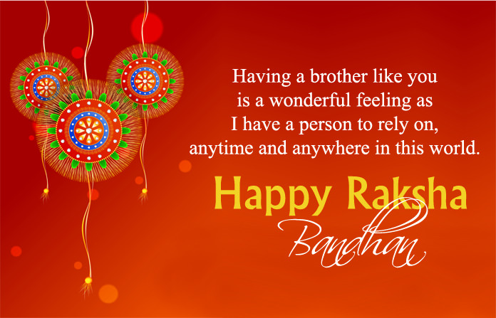 Greeting Image for Brother on Raksha Bandhan