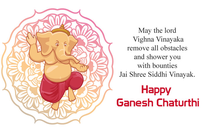 Happy Ganesh Chaturthi Quotes Image