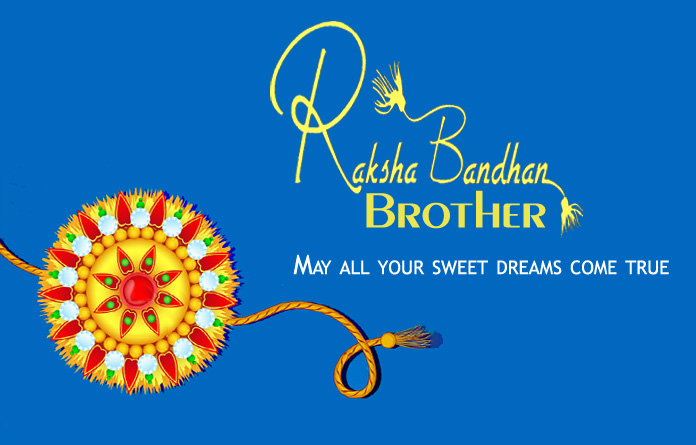 Happy Raksha Bandhan Brother
