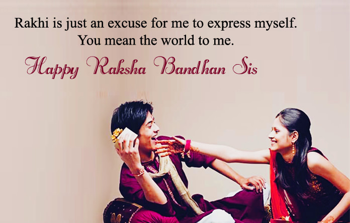 Rakhi Messages for Siblings Pic