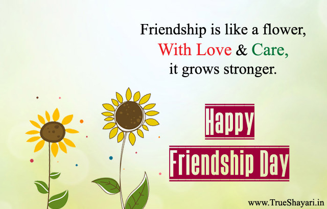 Sayings Images for Friendship Day