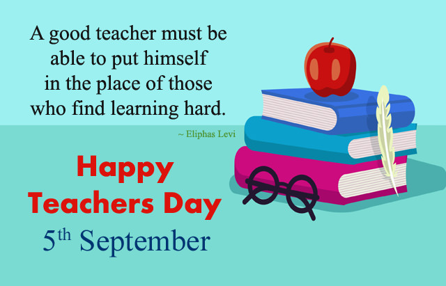 fifth Sep teachers day image