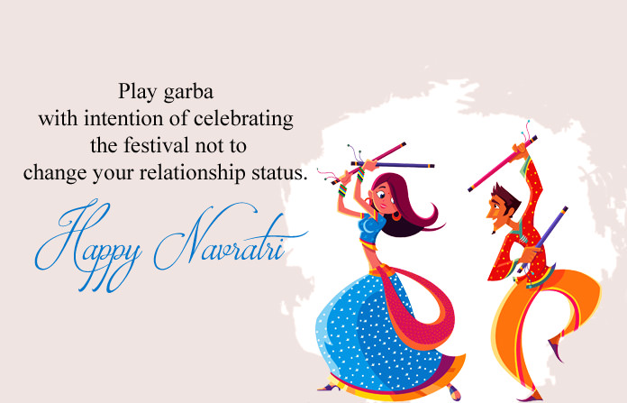 Happy Navratri Celebration Image