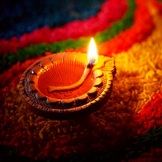 Beautiful Diwali Diya DP for whatsapp