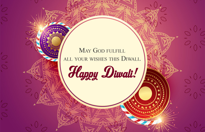 Beautiful HD Happy Diwali Greeting Card