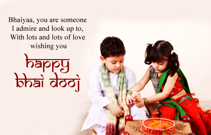 Bhai Dooj Quotes from Sister