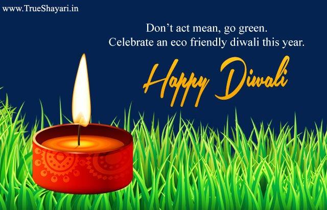 Celebrate Go Green Deepavali 2017