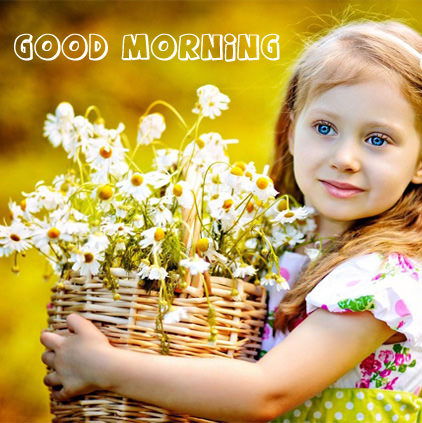 Cute Child Gud Morning Profile Pictures