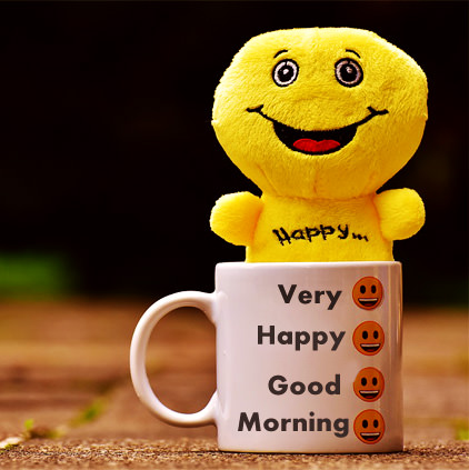 Cute Child Gud Morning Profile Pictures Funny GM Smiley For Facebook