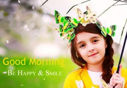 Cute Girl Good Morning DP