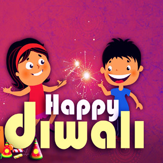 Cute Happy Diwali Whatsapp Profile Images