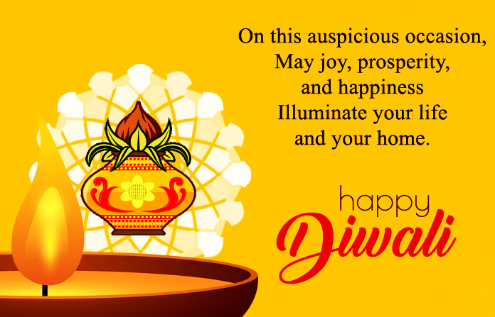 Happy Diwali Images with Quotes in English, HD Deepavali