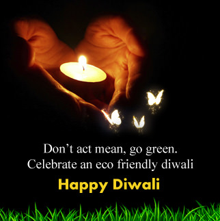 Eco Friendly Diwali DP