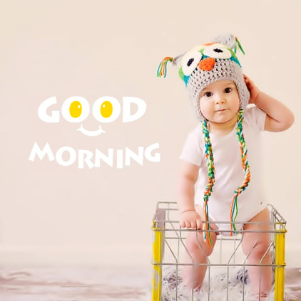 Good Morning Cute Baby Images 4 fb