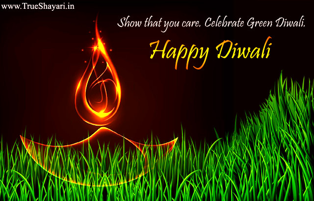 Green Diwali Quotes Slogans