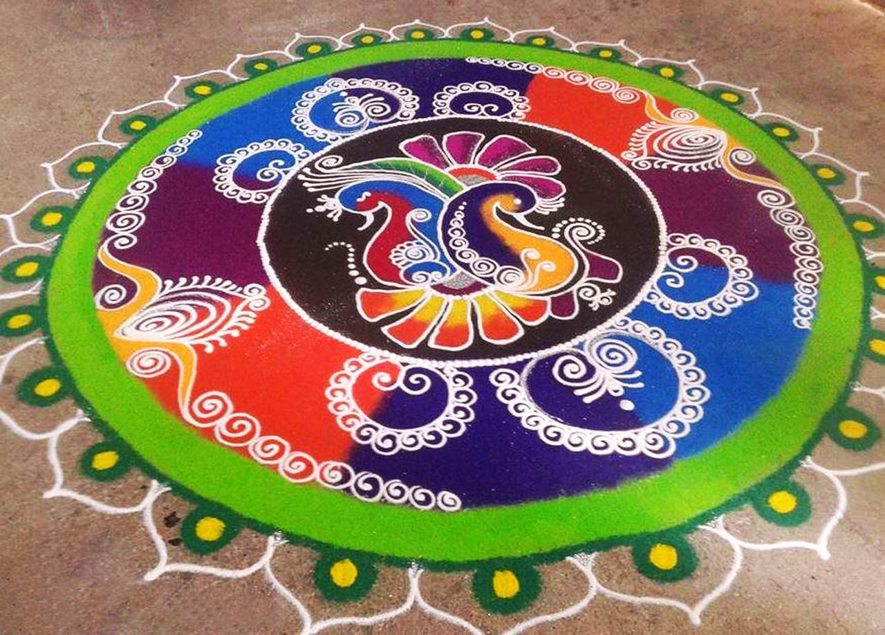 Rangoli images Diwali 2014  YouTube