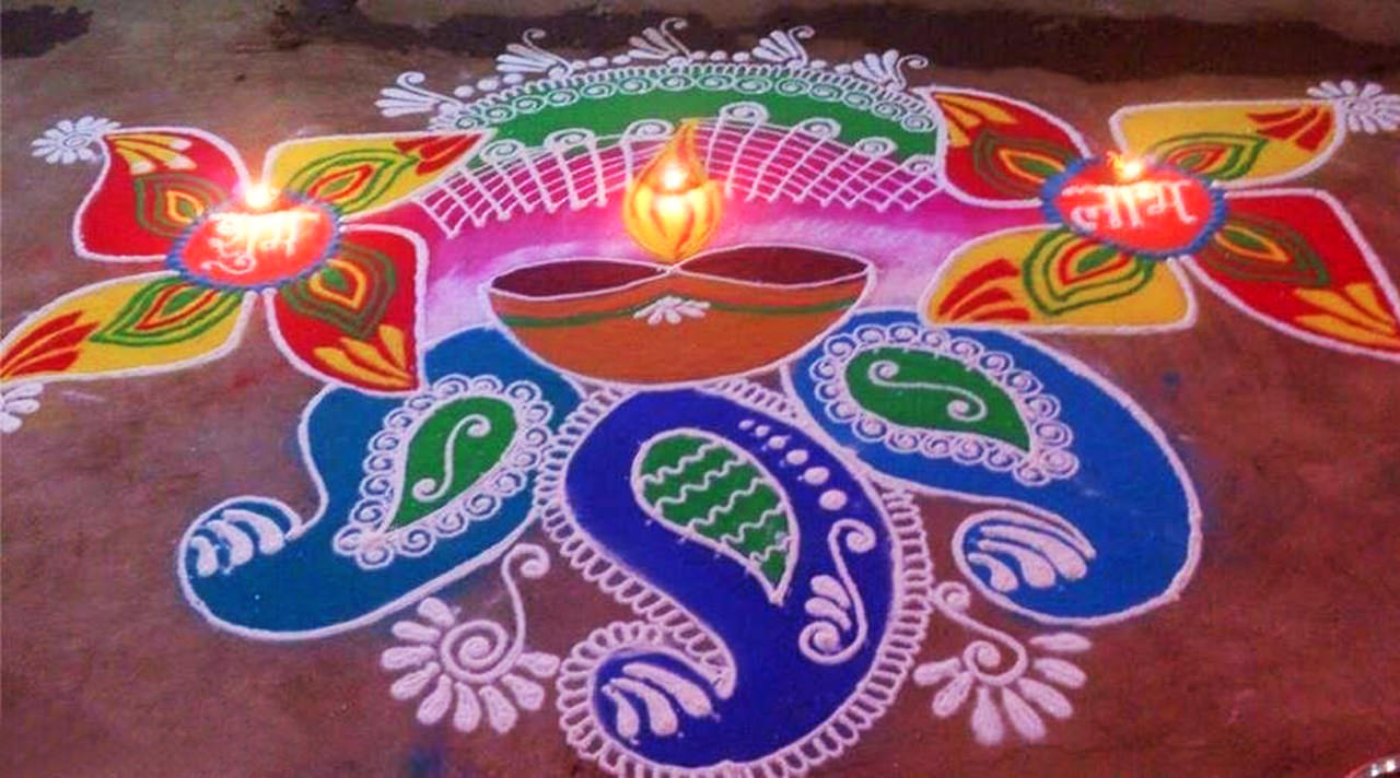 Rangoli Images for Diwali