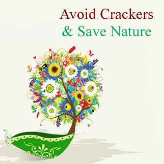 Save Nature Go Green Diwali Profile Pic