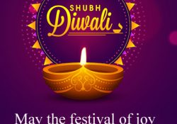 Shubh Diwali DP in English