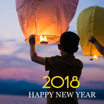 Happy New Year Flying Sky Lantern