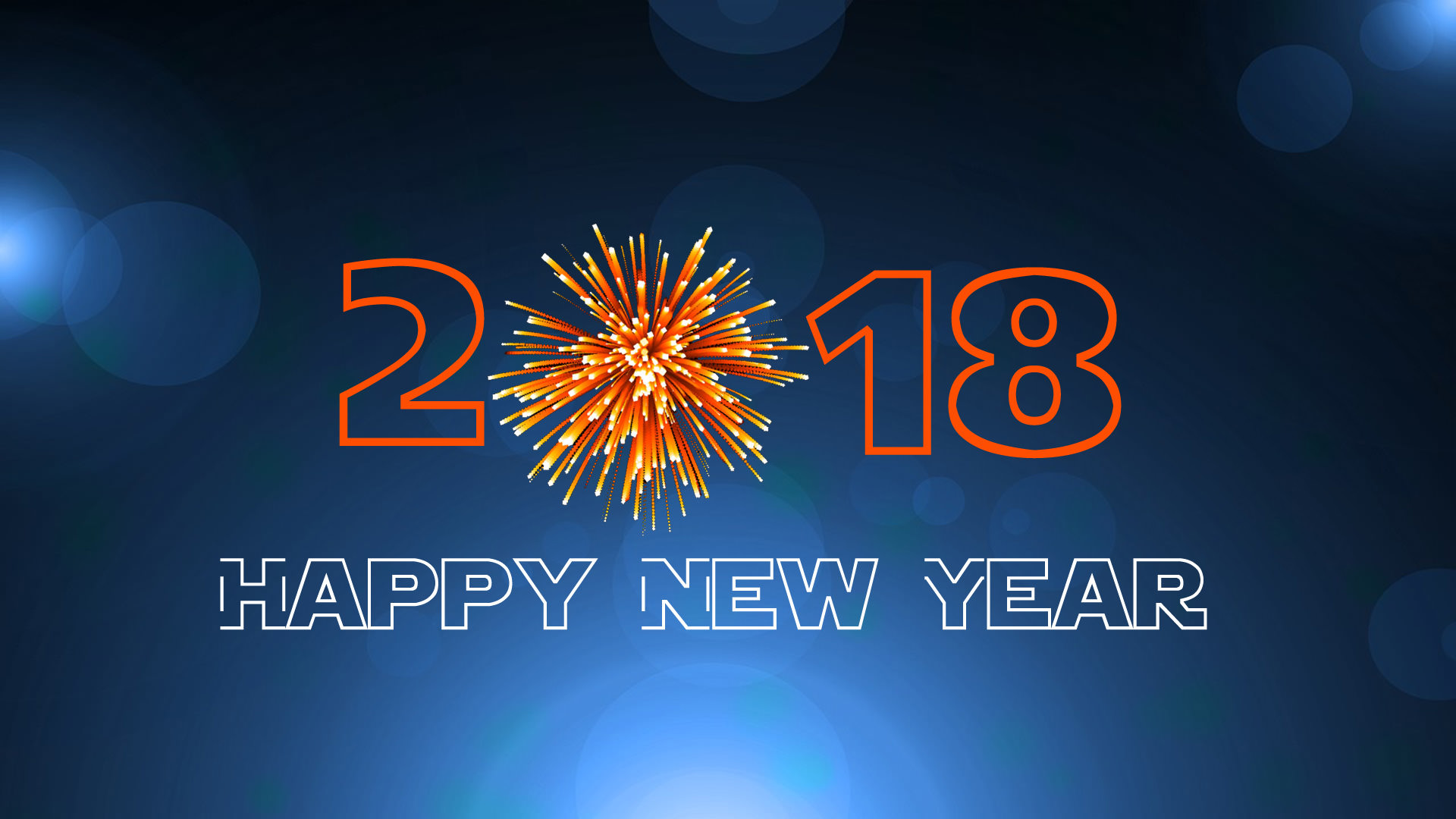 2018 Happy New Year Images for Desktop