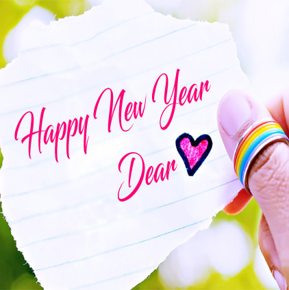 Beautiful New Year DP for Lovers