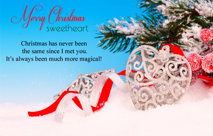Christmas Love Images for Couple