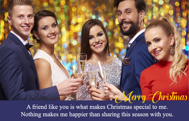 Christmas Wishes for Special Friend