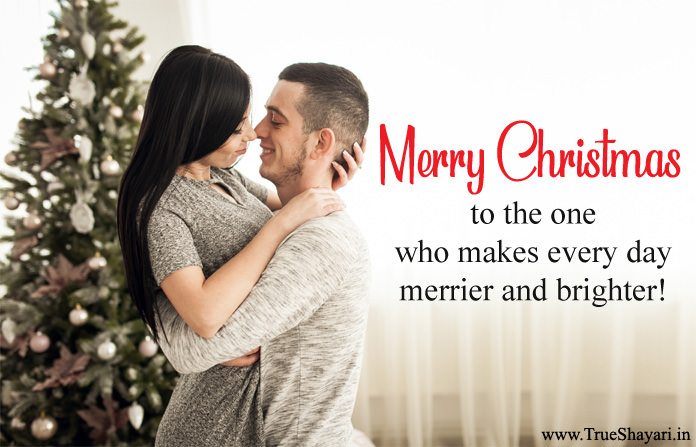 Cute Christmas Sayings Greetings for Love