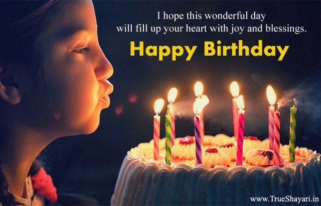 Happy Birthday Images in Hindi English (Shayari, Wishes