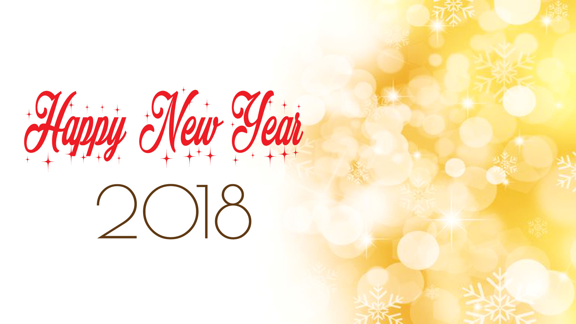 Happy New Year 2018 Background Photo