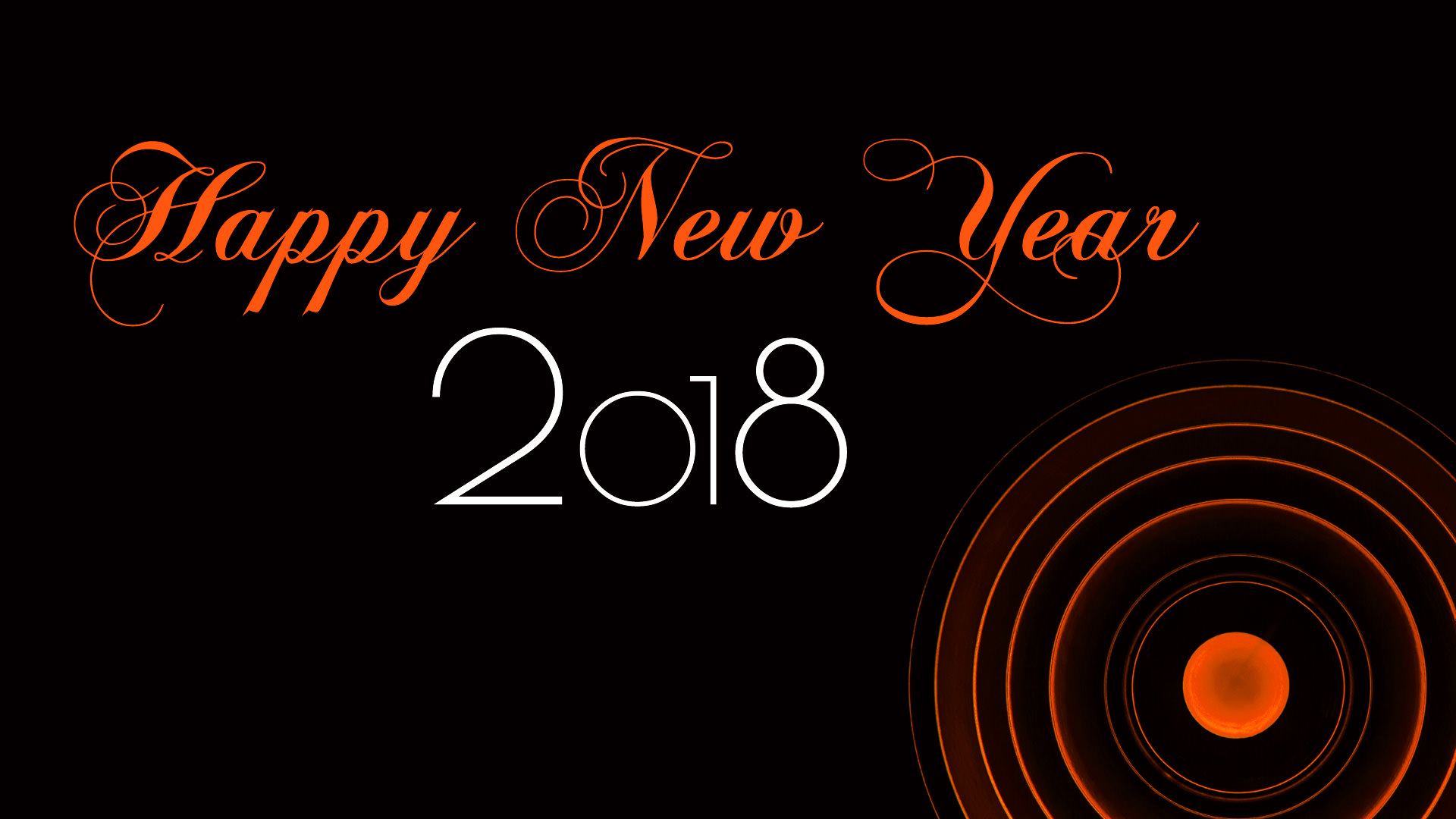 happy new year 2018 hd wallpapers