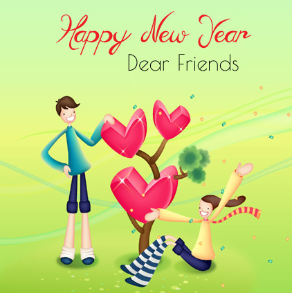 Happy New Year Dear Friends